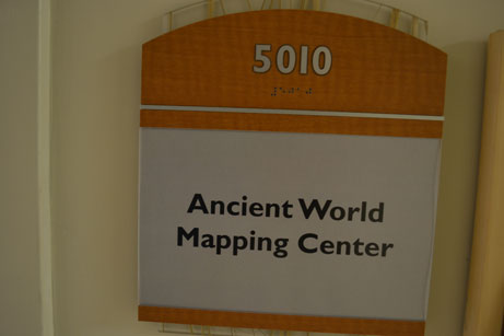 Ancient World Mapping Center | Just another Day of DH 2013 site
